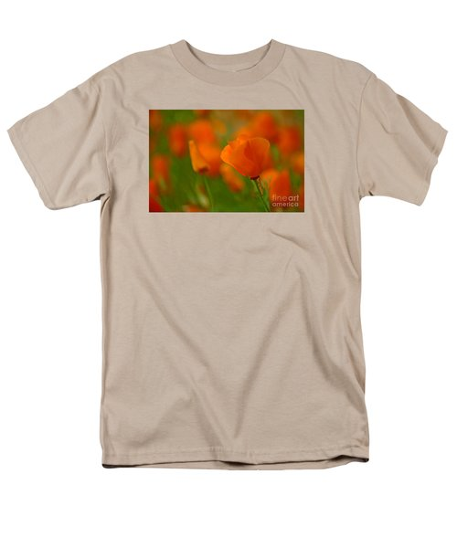 Men's T-Shirt  (Regular Fit) featuring the photograph Poppy Art by Nick  Boren