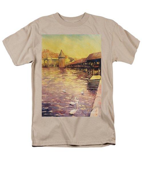 Posing For Tourists Men's T-Shirt  (Regular Fit)