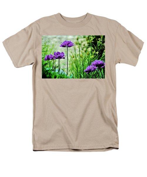 Pretty Purple Men's T-Shirt  (Regular Fit)