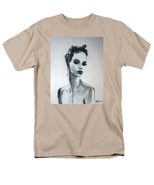 Men's T-Shirt  (Regular Fit) featuring the painting Primadonna by Jarmo Korhonen aka Jarko