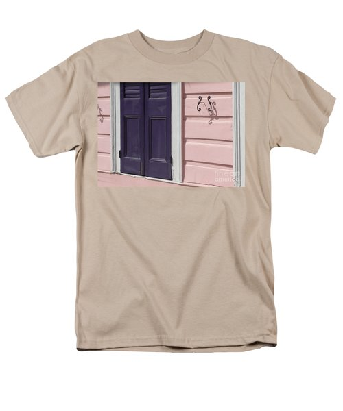 Men's T-Shirt  (Regular Fit) featuring the photograph Purple Door by Valerie Reeves