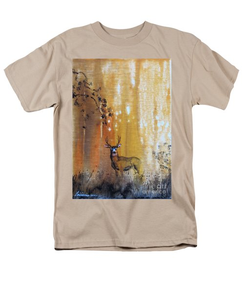 Men's T-Shirt  (Regular Fit) featuring the painting Quiet Time by Laurianna Taylor