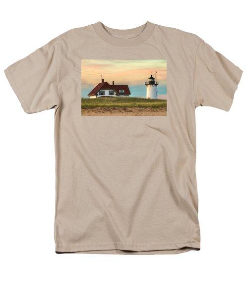 Race Point Light At Sunset Men's T-Shirt  (Regular Fit) by Brian Caldwell