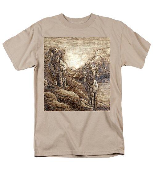 Rams Relief Men's T-Shirt  (Regular Fit) by Wendy McKennon