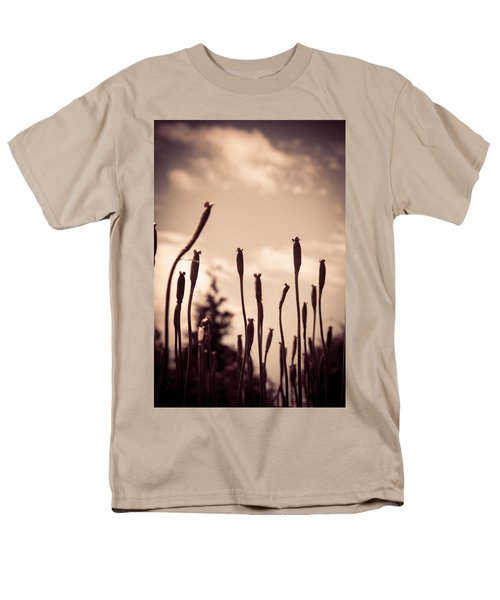 Flowers Reaching For The Sky Men's T-Shirt  (Regular Fit) by Brian Caldwell