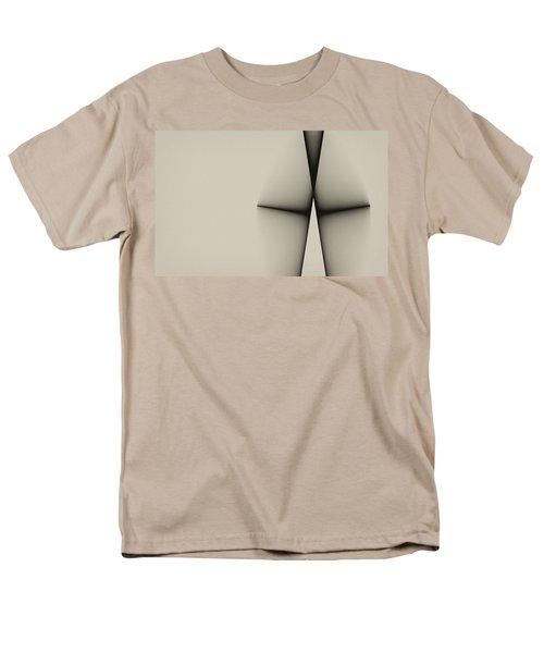 Rear View Men's T-Shirt  (Regular Fit) by GJ Blackman