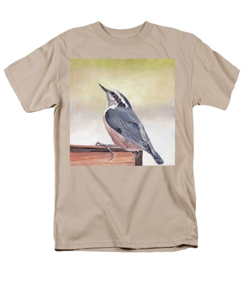 Red Breasted Nuthatch Men's T-Shirt  (Regular Fit)