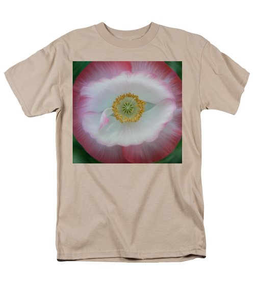 Men's T-Shirt  (Regular Fit) featuring the photograph Red Eye Poppy by Barbara St Jean