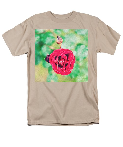 Red Rose Men's T-Shirt  (Regular Fit) by Yew Kwang