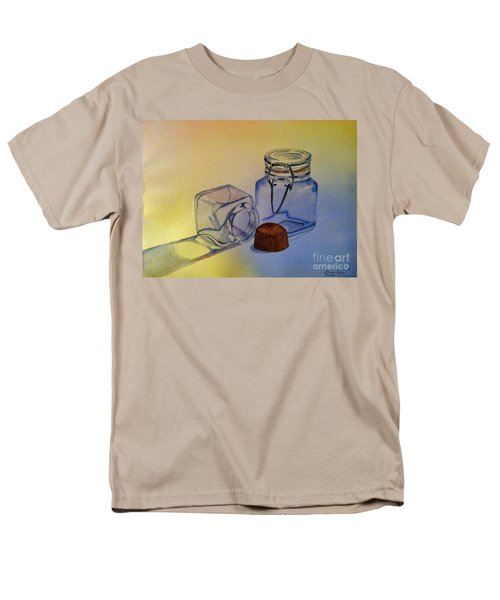 Reflective Still Life Jars Men's T-Shirt  (Regular Fit) by Brenda Brown