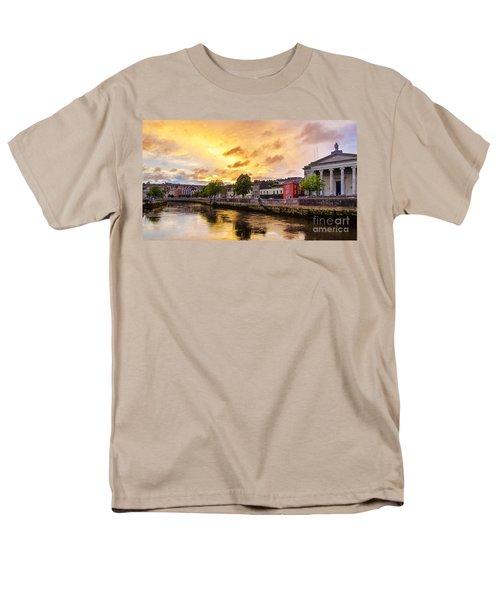 River Lee In Cork Men's T-Shirt  (Regular Fit) by Daniel Heine