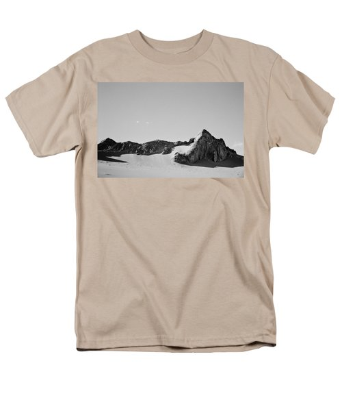 Men's T-Shirt  (Regular Fit) featuring the photograph Rock And Sand by Lana Enderle