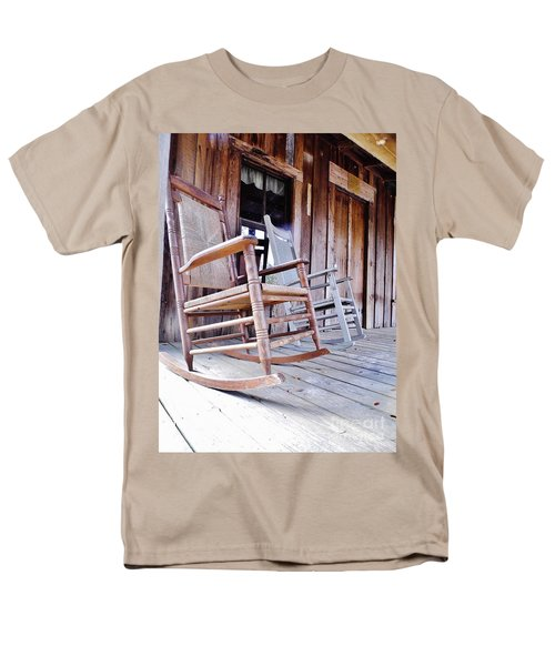 Rocking On The Front Porch Men's T-Shirt  (Regular Fit) by D Hackett