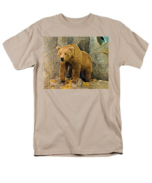 Rolling Hills Wildlife Adventure 1 Men's T-Shirt  (Regular Fit) by Walter Herrit