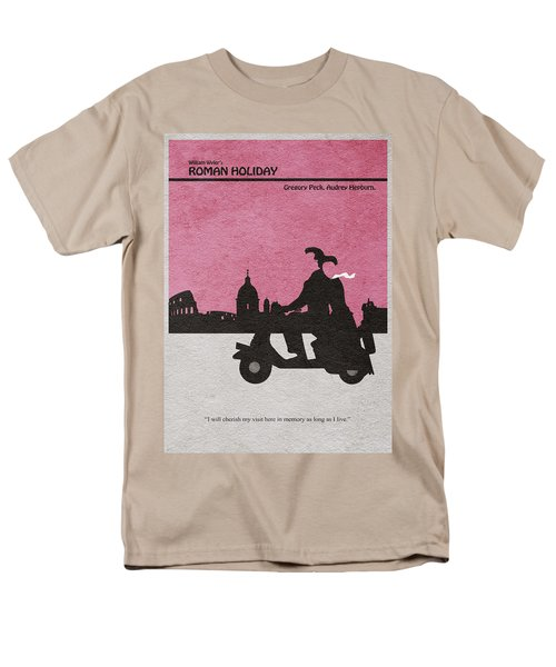 Roman Holiday Men's T-Shirt  (Regular Fit) by Ayse Deniz