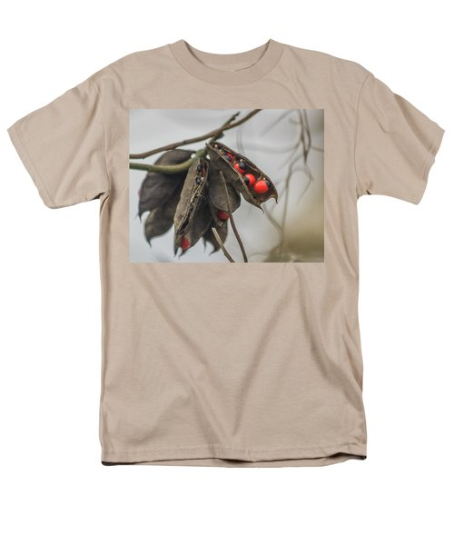 Rosary Pea Men's T-Shirt  (Regular Fit) by Jane Luxton