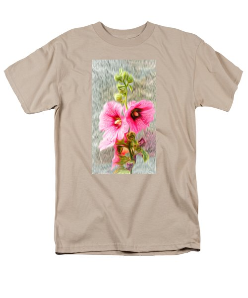 Rose Of The North Abstract. Men's T-Shirt  (Regular Fit) by Ian Gledhill