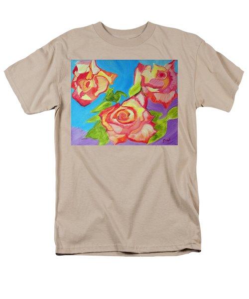 Rosey Men's T-Shirt  (Regular Fit) by Meryl Goudey