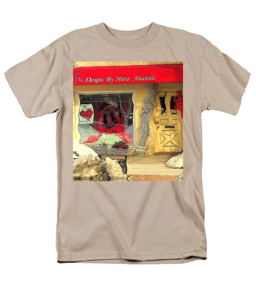 Rouge On The Rue Men's T-Shirt  (Regular Fit) by Tami Quigley