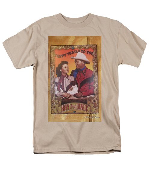 Roy And Dale Men's T-Shirt  (Regular Fit) by Donna Brown