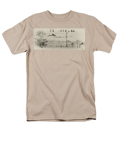 Rust Wind And Time Are Not Kind Men's T-Shirt  (Regular Fit) by Wilma  Birdwell