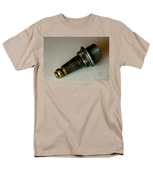 Rusty Old Spark Plugs Men's T-Shirt  (Regular Fit) by Wilma  Birdwell