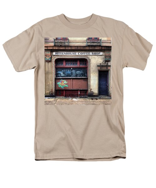 Rusty Rittenhouse Men's T-Shirt  (Regular Fit) by Katie Cupcakes
