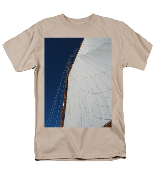 Men's T-Shirt  (Regular Fit) featuring the photograph Sail Away With Me by Photographic Arts And Design Studio