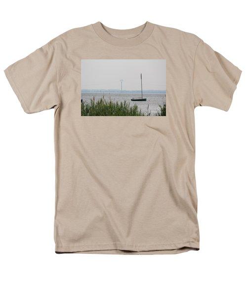 Men's T-Shirt  (Regular Fit) featuring the photograph Sailboat by David Jackson