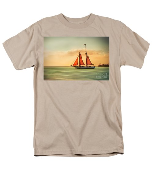Sailing Into The Sun Men's T-Shirt  (Regular Fit) by Hannes Cmarits