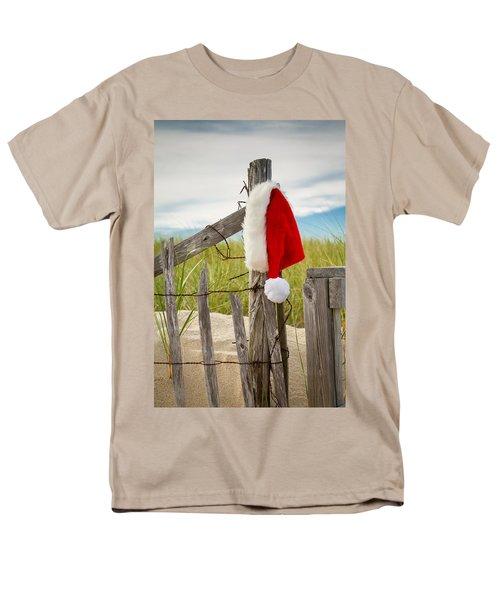 Santa's Downtime Men's T-Shirt  (Regular Fit) by Brian Caldwell