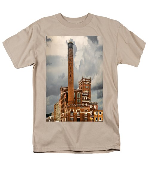 Schmidt Brewery Men's T-Shirt  (Regular Fit) by Paul Freidlund