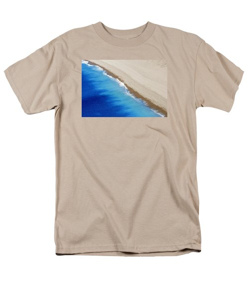Men's T-Shirt  (Regular Fit) featuring the photograph Sea And Sand by Wendy Wilton