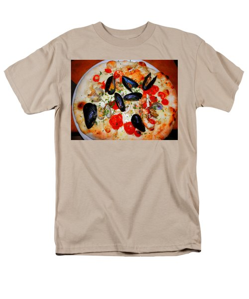 Seafood Pizza Men's T-Shirt  (Regular Fit) by Pema Hou