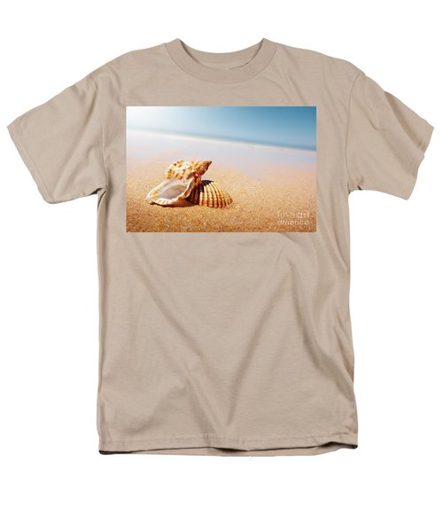 Seashell And Conch Men's T-Shirt  (Regular Fit) by Carlos Caetano