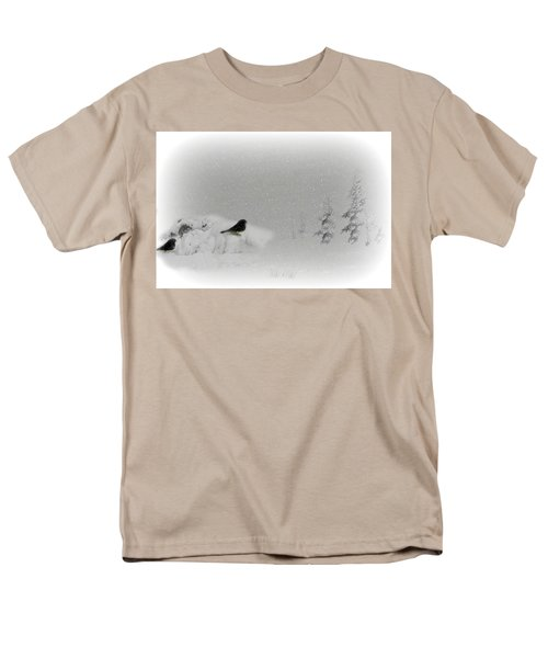 Seeking Shelter Men's T-Shirt  (Regular Fit)