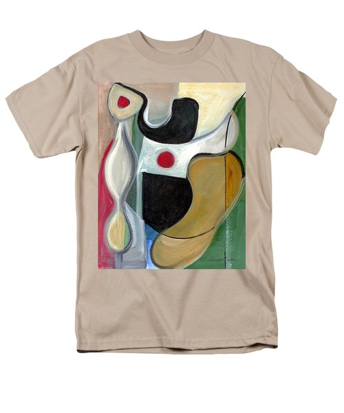 Men's T-Shirt  (Regular Fit) featuring the painting Sensuous Beauty by Stephen Lucas