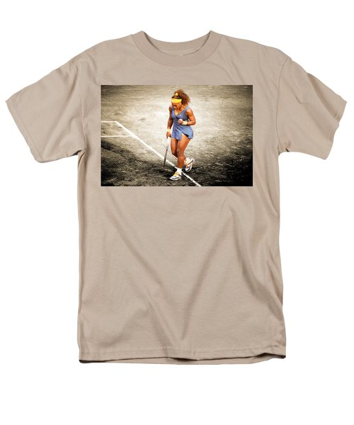 Serena Williams Count It Men's T-Shirt  (Regular Fit) by Brian Reaves