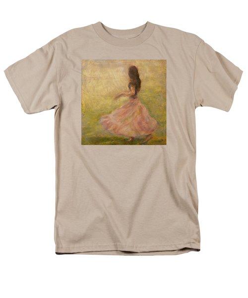 She Dances With The Rain Men's T-Shirt  (Regular Fit) by Quin Sweetman