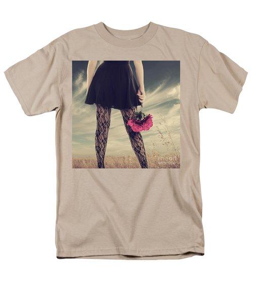 Men's T-Shirt  (Regular Fit) featuring the digital art She's Got Legs by Linda Lees