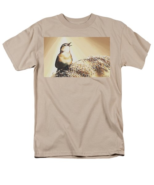 Singing My Heart Out Men's T-Shirt  (Regular Fit) by Sophia Schmierer