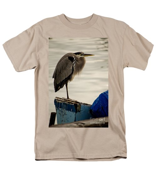 Sittin' On The Dock Of The Bay Men's T-Shirt  (Regular Fit) by Donna Greene