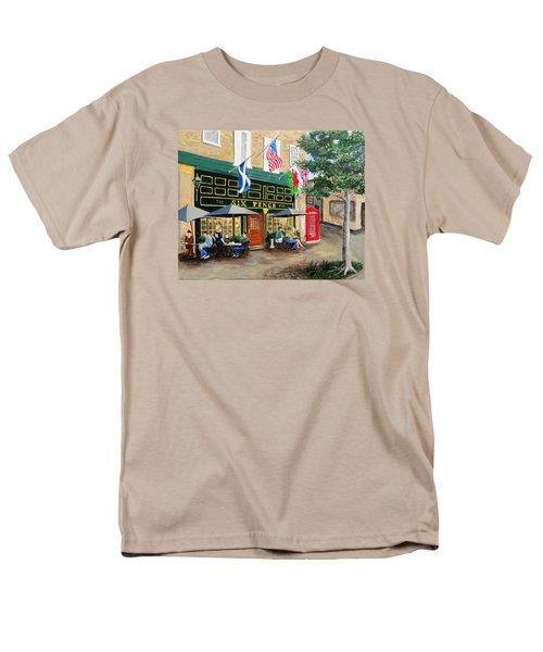 Six Pence Pub Men's T-Shirt  (Regular Fit) by Marilyn Zalatan