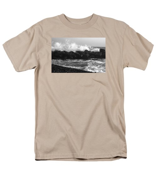 Men's T-Shirt  (Regular Fit) featuring the photograph Skagen Waves by Randi Grace Nilsberg