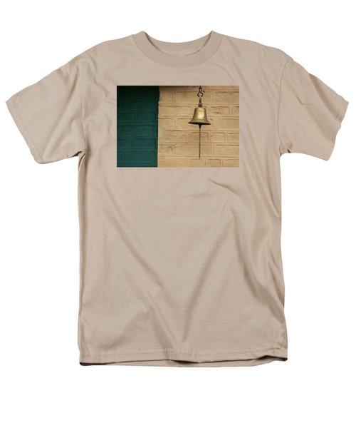Men's T-Shirt  (Regular Fit) featuring the photograph Skc 0005 A Doorbell by Sunil Kapadia