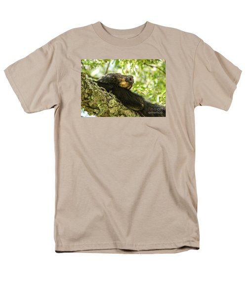 Sleeping Bear Men's T-Shirt  (Regular Fit) by Debbie Green