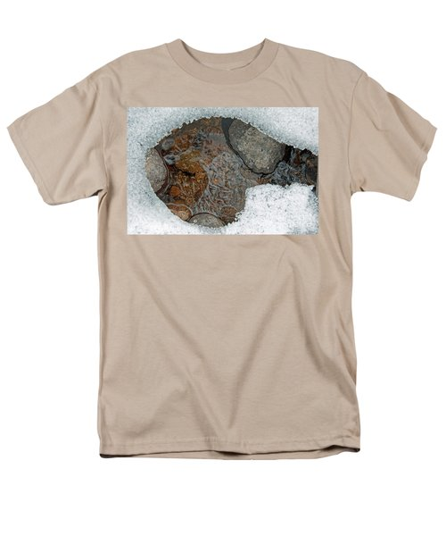 Snow Melt 3 Men's T-Shirt  (Regular Fit) by Minnie Lippiatt