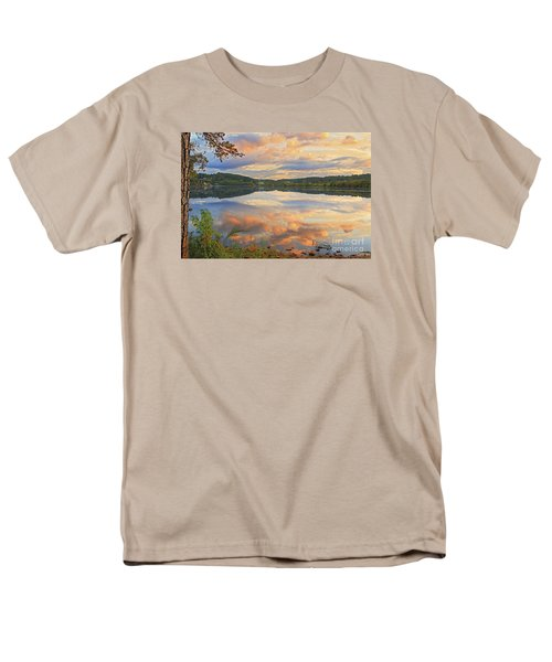 Men's T-Shirt  (Regular Fit) featuring the photograph Soddy Lake by Geraldine DeBoer