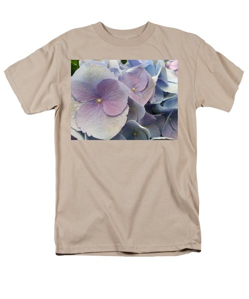 Men's T-Shirt  (Regular Fit) featuring the photograph Soft Hydrangea  by Caryl J Bohn
