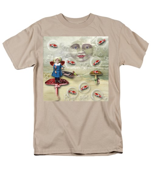 Something Fishy At The Shore Men's T-Shirt  (Regular Fit) by Bellesouth Studio